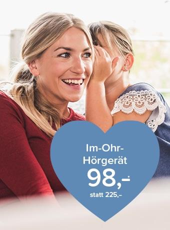 Im-Ohr-Hörgerät 98,-