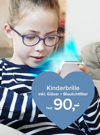 Kinderbrillen mit Blaufilter