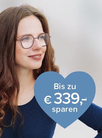 Auf Brillengläser sparen